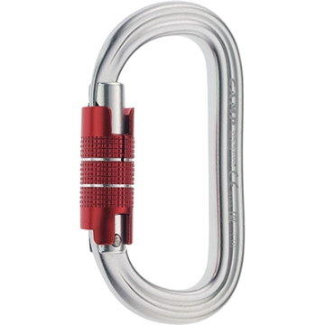 Camp- OVAL XL 2LOCK - Twist lock Carabiner 2124