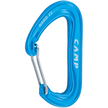 CAMP -  NANO 22 - Carabiner Light Blue - 233511